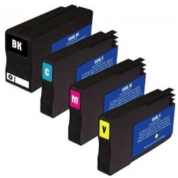 LOT DE 4 CARTOUCHES COMPATIBLE HP 950XL HP 951XL GRANDE CAPACITE HP950 HP951 XL