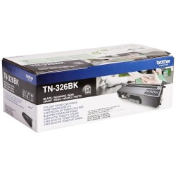BROTHER TN-326 BK : TONER DE MARQUE MODÈLE BROTHER TN326 BK NOIR