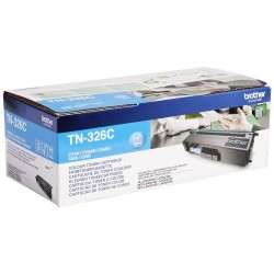 BROTHER TN-326 C : TONER DE MARQUE MODÈLE BROTHER TN326 C CYAN