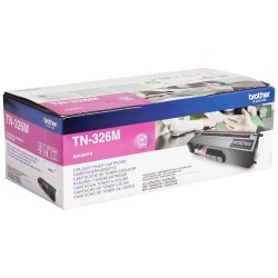 BROTHER TN-326 M : TONER DE MARQUE MODÈLE BROTHER TN326 M MAGENTA