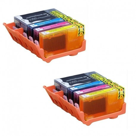 HP 934XL HP 935XL : Lot 8 cartouches compatible HP OfficeJet Pro 6230 6820 6830 - HP934 HP935 XL