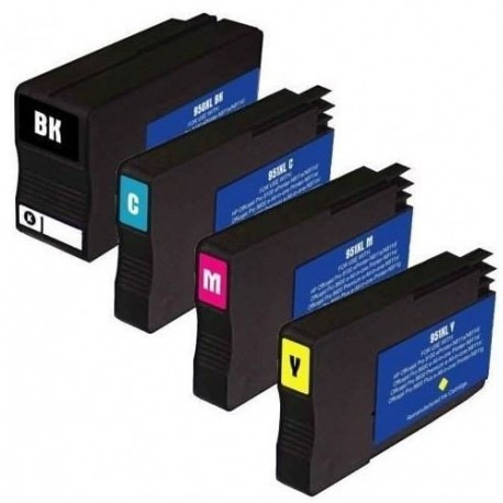HP 950XL HP 951XL Lot 4 cartouches compatible HP Officejet Pro 8615 8620 8630